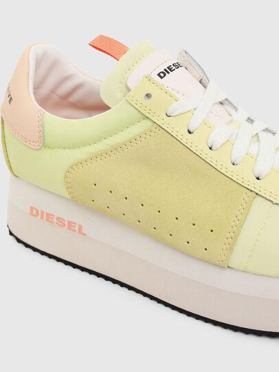 Diesel - S-PYAVE WEDGE, Giallo - Sneakers - Image 4