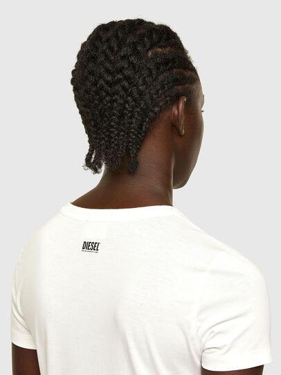 Diesel - T-SOAL-R1, Bianco - T-Shirts - Image 4