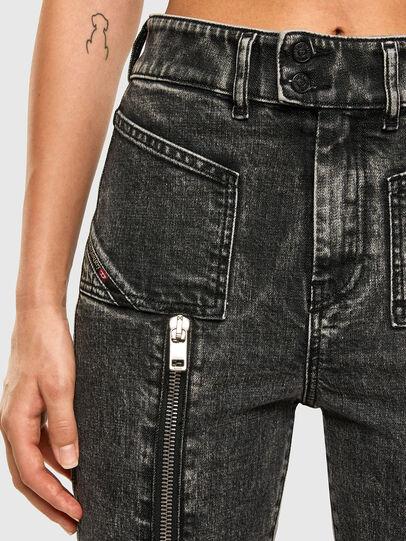 Diesel - D-Earlie 009DN, Nero/Grigio scuro - Jeans - Image 3