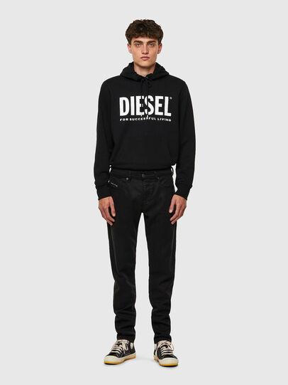 Diesel - D-Strukt JoggJeans® 069NC, Nero/Grigio scuro - Jeans - Image 5