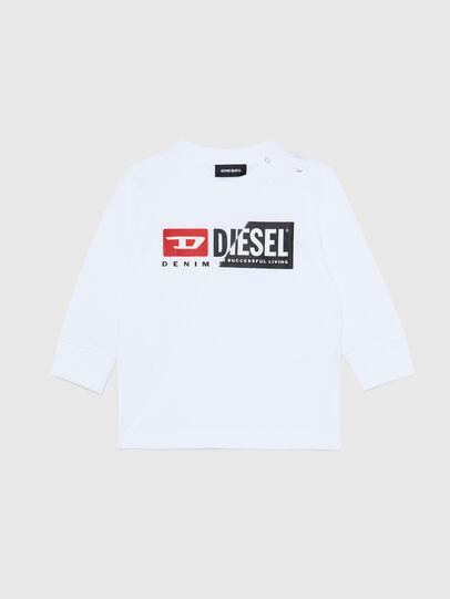 Diesel - TDIEGOCUTYB ML, Bianco - T-shirts e Tops - Image 1