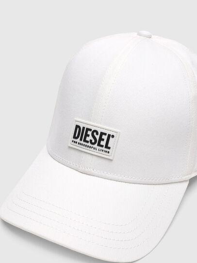 Diesel - CORRY-GUM, Bianco - Cappelli - Image 3