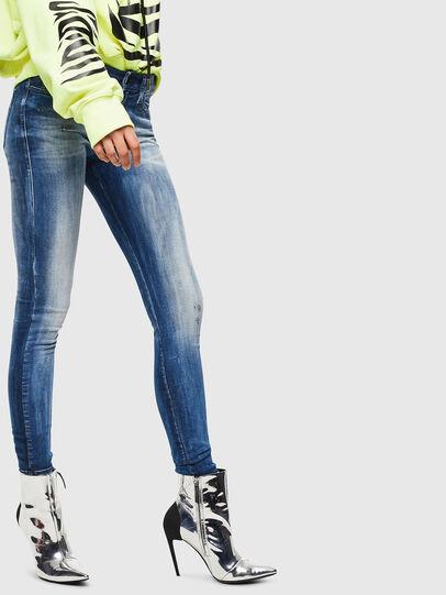 Diesel - Slandy 0095C, Blu medio - Jeans - Image 4