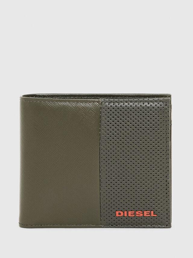 Diesel - HIRESH S, Verde Oliva - Portafogli Piccoli - Image 1