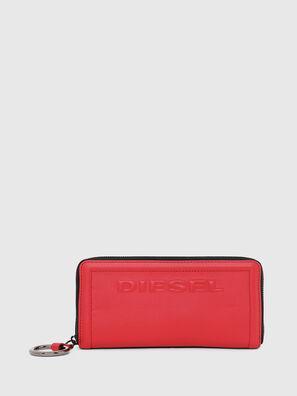 GRANATO LC, Rosso Fuoco - Portafogli Con Zip