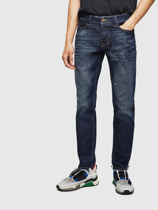 Larkee-Beex 087AT, Blu Scuro - Jeans
