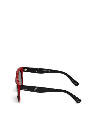 Diesel - DL0253, Nero/Rosso - Occhiali da sole - Image 3