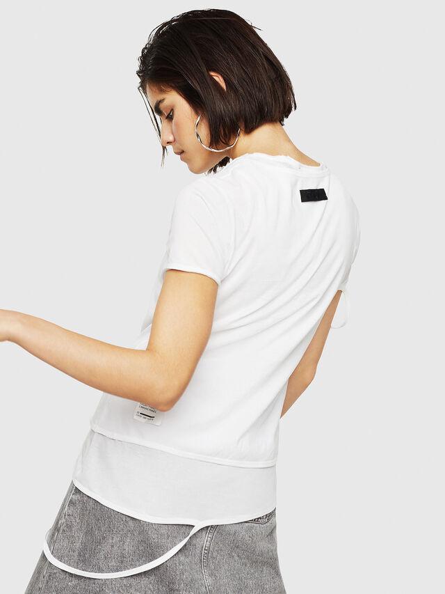 Diesel - T-EMIKO-B, Bianco - T-Shirts - Image 2