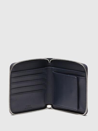 Diesel - PI-ZIP, Blu Scuro - Portafogli Con Zip - Image 3