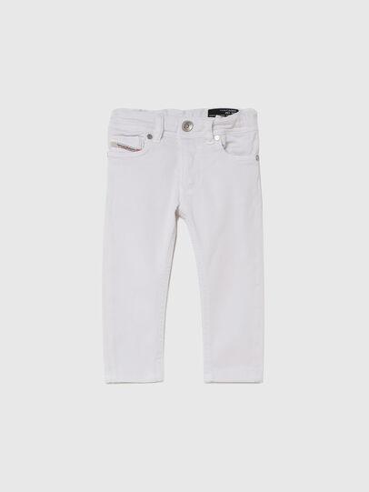 Diesel - SLEENKER-B JOGGJEANS-N, Bianco - Jeans - Image 1