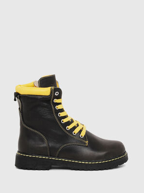 HB LACE UP 04 CH, Nero - Scarpe