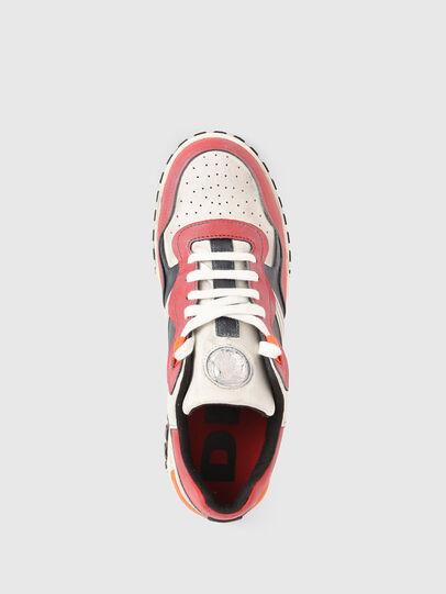 Diesel - S-RUA LOW SK, Bianco/Rosso - Sneakers - Image 6