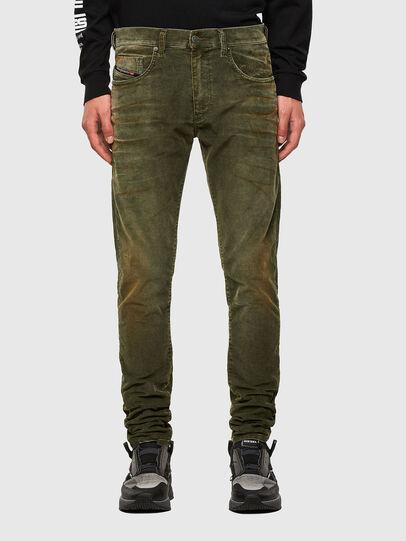 Diesel - D-Strukt 069PT, Verde Militare - Jeans - Image 1