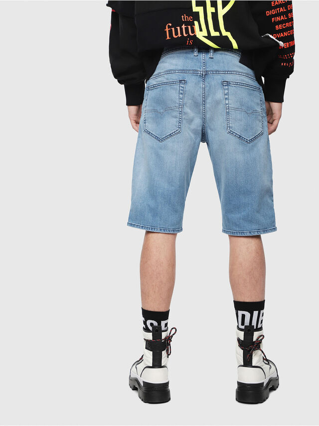 Diesel THOSHORT, Blu Chiaro - Shorts - Image 2