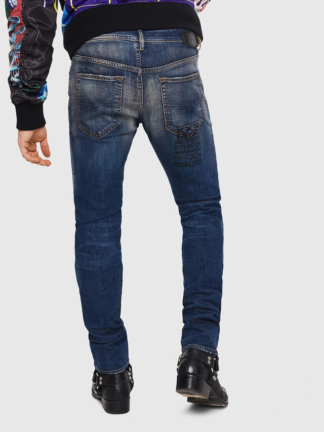 Diesel - Buster 087AW, Blu Scuro - Jeans - Image 2