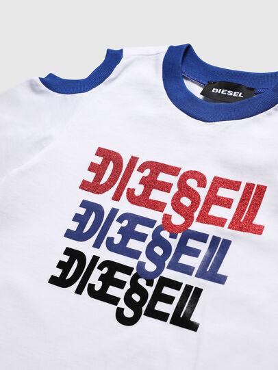Diesel - TANIURAB, Bianco - T-shirts e Tops - Image 3