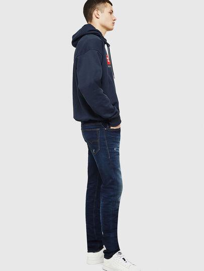 Diesel - Buster 069BM, Blu Scuro - Jeans - Image 5