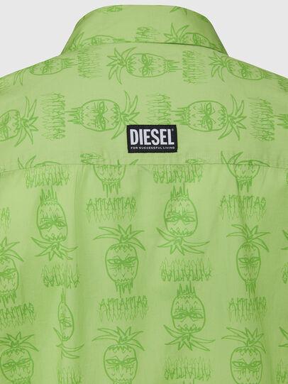 Diesel - S-ROHAD-C, Verde - Camicie - Image 3