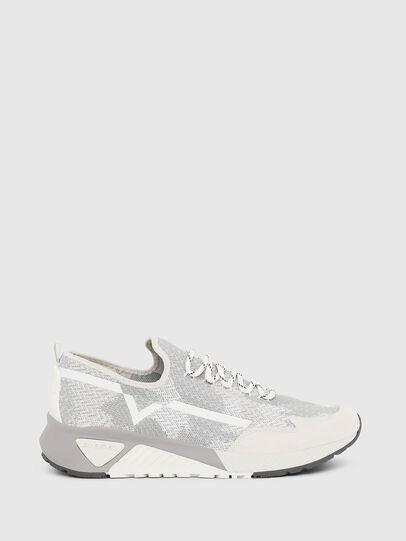Diesel - S-KBY, Grigio/Bianco - Sneakers - Image 1