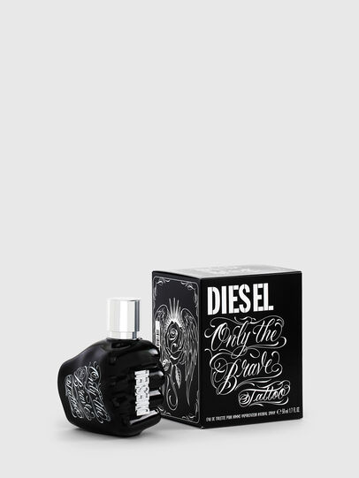 Diesel - ONLY THE BRAVE TATTOO 50 ML, Nero - Only The Brave - Image 1