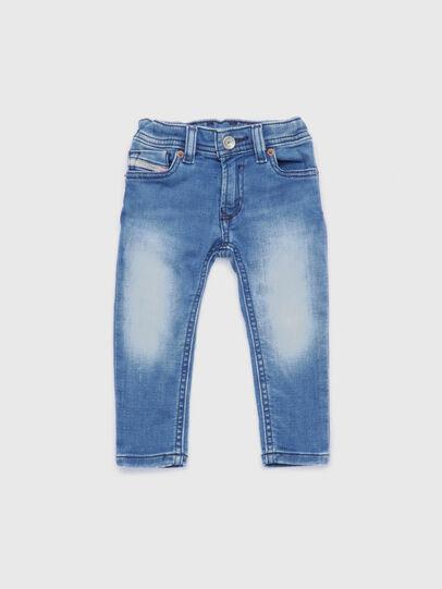 Diesel - SLEENKER-B JOGGJEANS-N, Blu Chiaro - Jeans - Image 1
