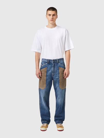 Diesel - D-Franky 0GCAY, Blu medio - Jeans - Image 6