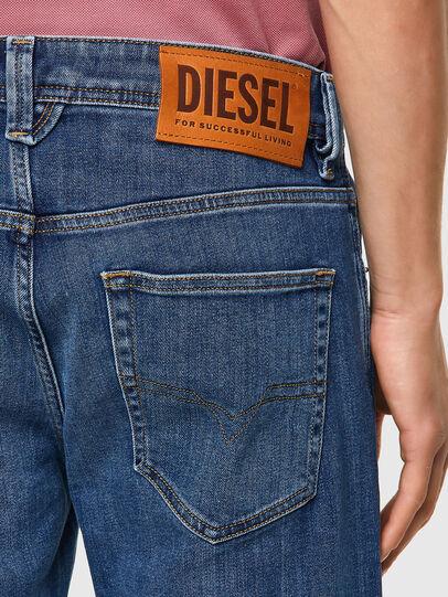 Diesel - Larkee 09A80, Blu medio - Jeans - Image 3