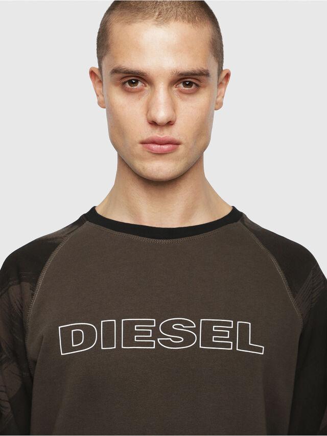 Diesel - UMLT-MAX, Verde Militare - Felpe - Image 3
