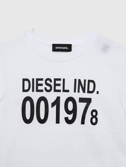 Diesel - TDIEGO001978B-R, Bianco/Nero - T-shirts e Tops - Image 3