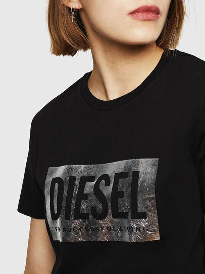 Diesel - T-FOIL, Nero - T-Shirts - Image 5
