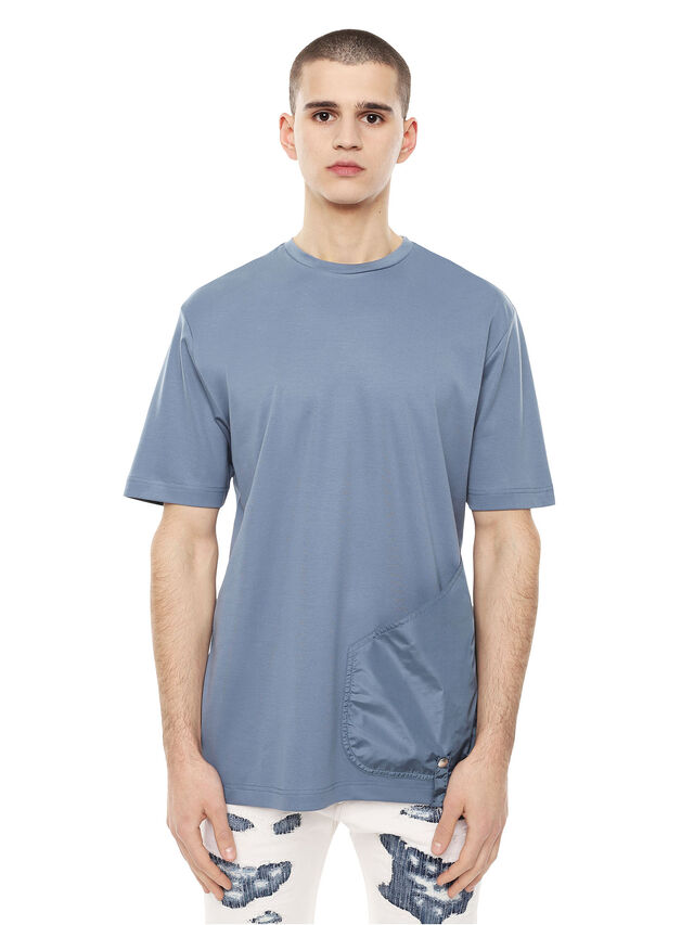 Diesel - TIPP, Indaco - T-Shirts - Image 1