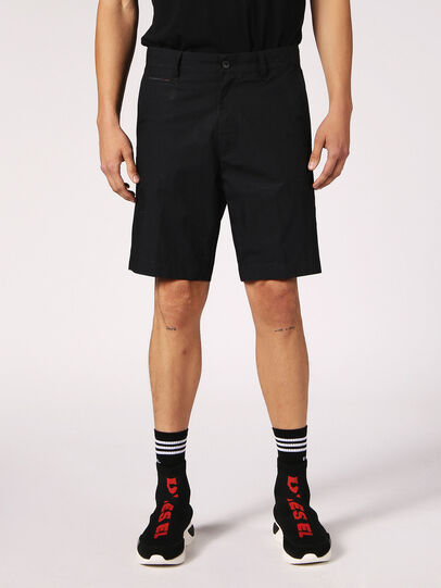 Diesel - CHI-DRIVE, Nero - Shorts - Image 2