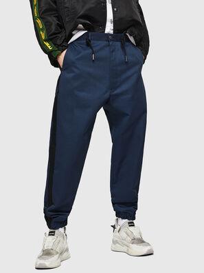 P-LEV, Blu - Pantaloni