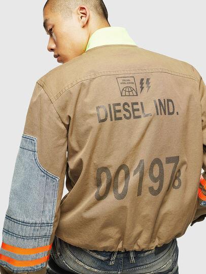 Diesel - J-STORCH, Beige - Giacche - Image 5