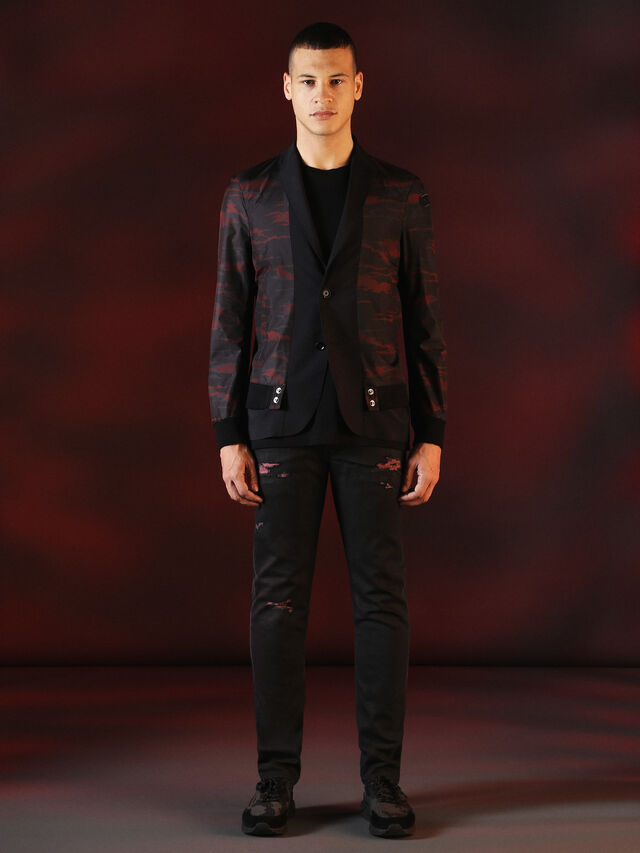Diesel - DVL-JACKET-SPECIAL COLLECTION, Nero - Giacche - Image 6