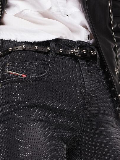 Diesel - D-Ollies JoggJeans 0093H, Nero/Grigio scuro - Jeans - Image 3