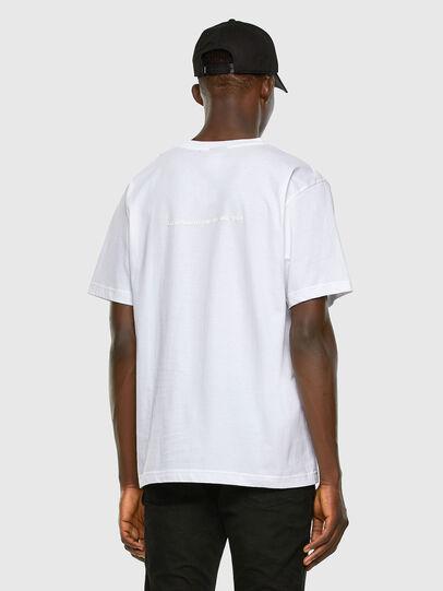 Diesel - T-TUBOLAR-X20, Bianco - T-Shirts - Image 6