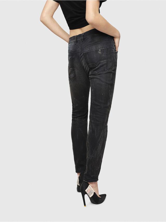Diesel - Krailey JoggJeans 069IA, Nero Jeans - Jeans - Image 2