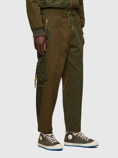 Diesel - P-BRIGGS, Verde Militare - Pantaloni - Image 3