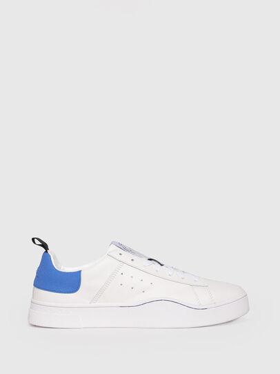 Diesel - S-CLEVER LOW, Bianco/Blu - Sneakers - Image 1