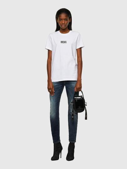 Diesel - T-SILY-ECOSMALLOGO, Bianco - T-Shirts - Image 4