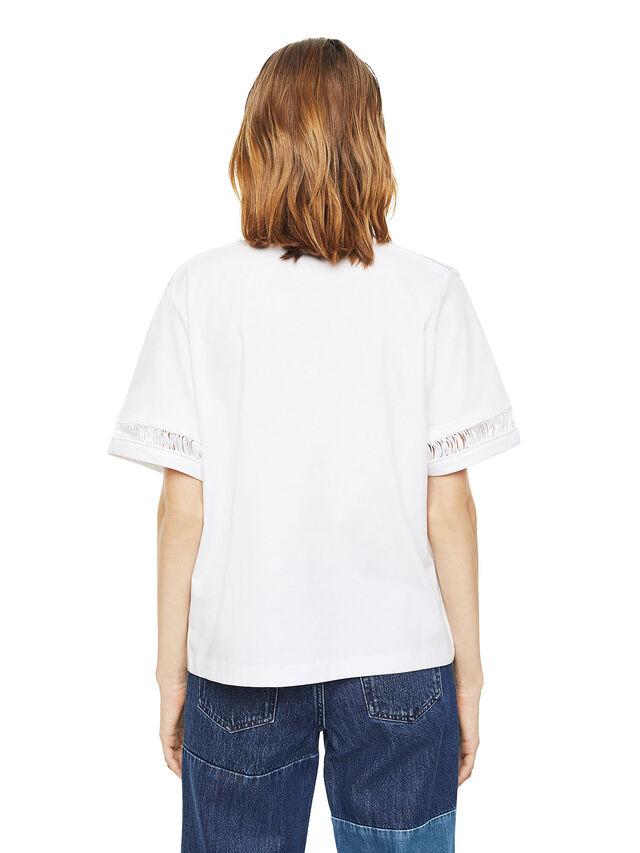 Diesel - TREENA, Bianco - T-Shirts - Image 2