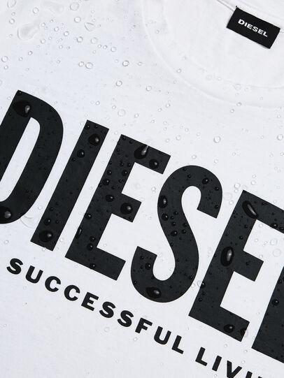Diesel - T-DIEGO-LOGO, Bianco - T-Shirts - Image 5