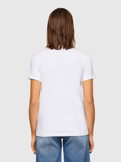 Diesel - T-SILY-K6, Bianco - T-Shirts - Image 2
