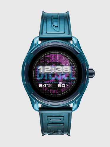 Smartwatch Diesel On Fadelite - Blu trasparente