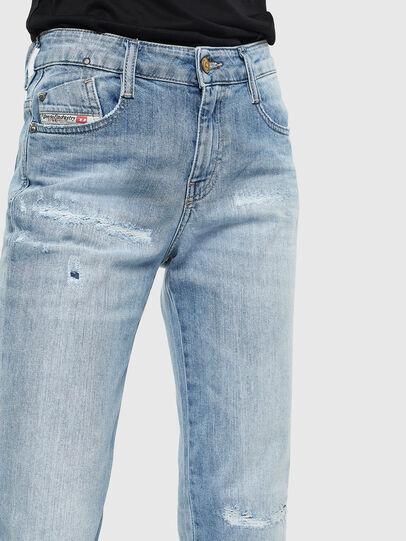 Diesel - D-Rifty 0095V, Blu Chiaro - Jeans - Image 5