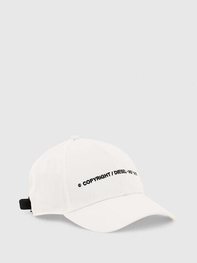 Diesel - COMIXI, Bianco - Cappelli - Image 1