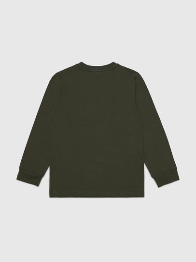 Diesel - TUSTY ML, Verde Militare - T-shirts e Tops - Image 2