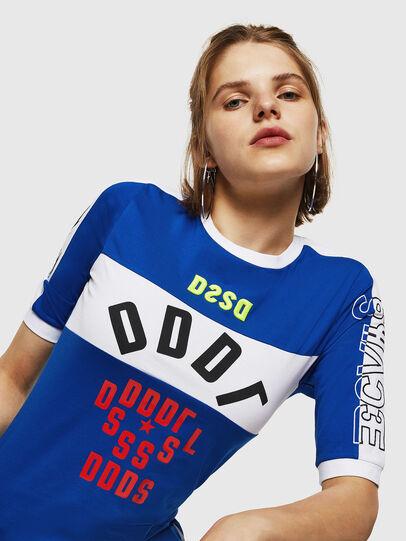 Diesel - T-HEIA-B, Blu Brillante - T-Shirts - Image 3