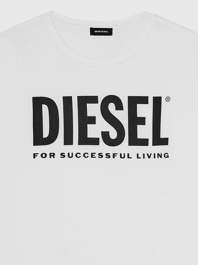 Diesel - T-DIEGO-LOGO, Bianco - T-Shirts - Image 3